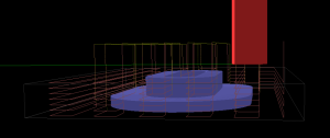 Toolpath visualization before exporting G-code.