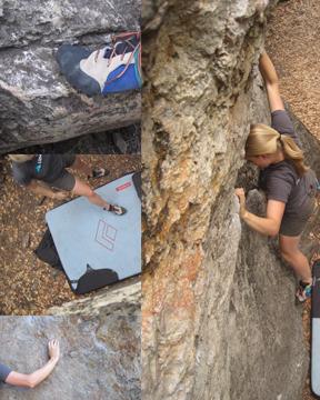 Boulder testing