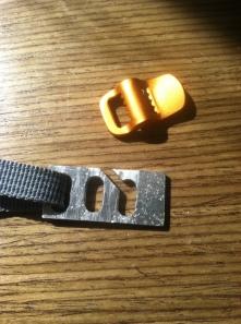 Gold: original ladder lock Silver: custom ladder lock