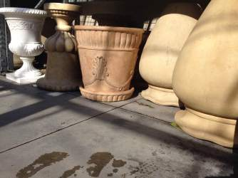 These... are not the cement pots I was looking for.